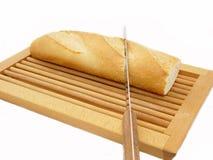 κοπή ψωμιού Στοκ Εικόνες