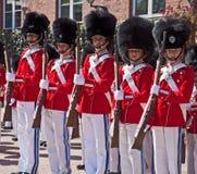 Κοπεγχάγη, Δανία - η ζώνη φρουράς νεολαίας Tivoli Στοκ εικόνες με δικαίωμα ελεύθερης χρήσης