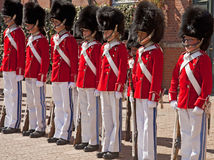 Κοπεγχάγη, Δανία - η ζώνη φρουράς νεολαίας Tivoli Στοκ φωτογραφίες με δικαίωμα ελεύθερης χρήσης