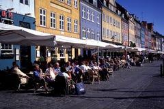 Κοπεγχάγη Δανία nyhavn στοκ φωτογραφίες