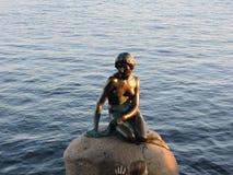 Κοπεγχάγη λίγη γοργόνα Στοκ φωτογραφία με δικαίωμα ελεύθερης χρήσης