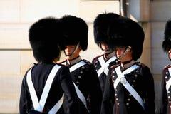 Κοπεγχάγη, στις 16 Αυγούστου 2016 - Η βασιλική φρουρά στην Κοπεγχάγη, Denmar Στοκ Εικόνα