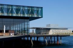 Κοπεγχάγη σύγχρονη Στοκ εικόνα με δικαίωμα ελεύθερης χρήσης
