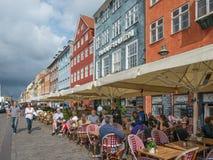 Κοπεγχάγη nyhavn Στοκ φωτογραφία με δικαίωμα ελεύθερης χρήσης