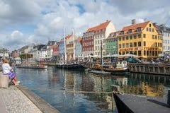 Κοπεγχάγη nyhavn Στοκ Εικόνα