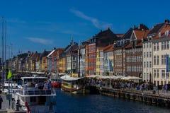 Κοπεγχάγη nyhavn Στοκ φωτογραφίες με δικαίωμα ελεύθερης χρήσης
