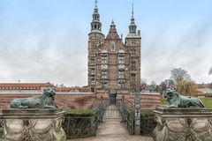 Κοπεγχάγη Rosenborg Castle Στοκ Φωτογραφία