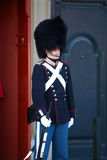 ΚΟΠΕΓΧΑΓΗ, ΔΑΝΙΑ - 15 ΑΥΓΟΎΣΤΟΥ 2016: Δανική βασιλική φρουρά ο ζωής Στοκ Εικόνες