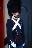 ΚΟΠΕΓΧΑΓΗ, ΔΑΝΙΑ - 15 ΑΥΓΟΎΣΤΟΥ 2016: Δανική βασιλική φρουρά ο ζωής Στοκ φωτογραφία με δικαίωμα ελεύθερης χρήσης