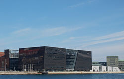 Η βασιλική βιβλιοθήκη της Κοπεγχάγης Στοκ φωτογραφία με δικαίωμα ελεύθερης χρήσης