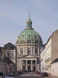 Η μαρμάρινη εκκλησία Στοκ εικόνα με δικαίωμα ελεύθερης χρήσης