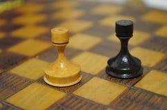 Κοράκια σκακιού Στοκ Εικόνα