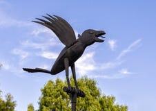 4 κοράκια Nevermore! από το Joe Barrington, Frisco, Τέξας Στοκ Εικόνες