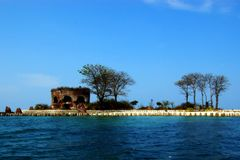 κοράκι νησιών Στοκ εικόνα με δικαίωμα ελεύθερης χρήσης