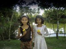 κορίτσια λίγα δύο Στοκ εικόνες με δικαίωμα ελεύθερης χρήσης