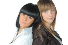 κορίτσια αρκετά Στοκ Φωτογραφίες