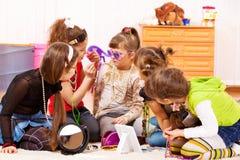 κορίτσια γοητευτικά Στοκ φωτογραφία με δικαίωμα ελεύθερης χρήσης