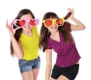 κορίτσια διασκέδασης ε&ph Στοκ Εικόνες