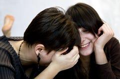 κορίτσια διασκέδασης π&omicro Στοκ Φωτογραφία