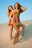 κορίτσια δύο ερήμων Στοκ φωτογραφία με δικαίωμα ελεύθερης χρήσης