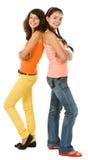 κορίτσια δύο Στοκ φωτογραφίες με δικαίωμα ελεύθερης χρήσης