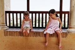 κορίτσια δύο στοκ εικόνα