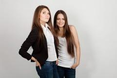 κορίτσια δύο Στοκ φωτογραφία με δικαίωμα ελεύθερης χρήσης