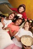 κορίτσια ευτυχή λίγα Στοκ εικόνες με δικαίωμα ελεύθερης χρήσης