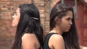 Κορίτσια εφήβων που έχουν μια διαφωνία απόθεμα βίντεο
