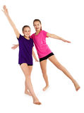 Κορίτσια ικανότητας Στοκ εικόνες με δικαίωμα ελεύθερης χρήσης