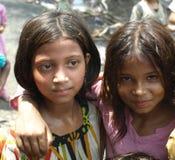 κορίτσια Ινδός Στοκ εικόνα με δικαίωμα ελεύθερης χρήσης