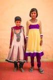 κορίτσια Ινδός δύο Στοκ φωτογραφία με δικαίωμα ελεύθερης χρήσης