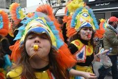 Κορίτσια και χρώματα Στοκ εικόνα με δικαίωμα ελεύθερης χρήσης