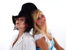 κορίτσια κοστουμιών Στοκ Φωτογραφία