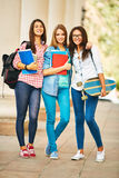 Κορίτσια κολλεγίου Στοκ Εικόνα