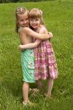 κορίτσια λίγα δύο Στοκ Εικόνες