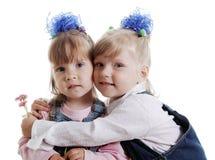 κορίτσια λουλουδιών Στοκ φωτογραφίες με δικαίωμα ελεύθερης χρήσης
