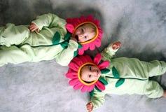 κορίτσια λουλουδιών Στοκ Φωτογραφία