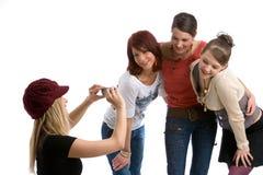 κορίτσια μοντέρνα στοκ εικόνες με δικαίωμα ελεύθερης χρήσης