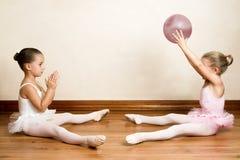 κορίτσια μπαλέτου Στοκ Εικόνες