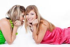 κορίτσια μόδας αστικά Στοκ φωτογραφία με δικαίωμα ελεύθερης χρήσης