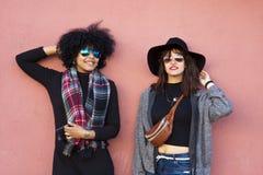 κορίτσια μόδας Στοκ Εικόνες