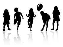κορίτσια που παίζουν τη σ Στοκ Φωτογραφία