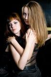 κορίτσια προκλητικά Στοκ εικόνες με δικαίωμα ελεύθερης χρήσης