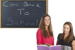 Κορίτσια σπουδαστών Στοκ Εικόνες