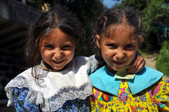 Κορίτσια τσιγγάνων στοκ φωτογραφίες