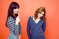 κορίτσια διασκέδασης π&omicro Στοκ εικόνα με δικαίωμα ελεύθερης χρήσης