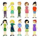 κορίτσια Στοκ φωτογραφίες με δικαίωμα ελεύθερης χρήσης