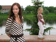 κορίτσια Στοκ εικόνες με δικαίωμα ελεύθερης χρήσης