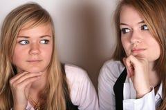 Κορίτσια Στοκ Εικόνες